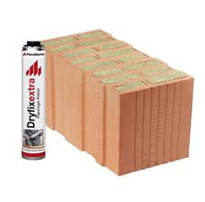 Керамический блок Porotherm T Profi Dryfix 50