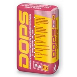 Dops MultiFix. Армирующая клеевая смесь для пенополистирольных и минераловатных плит. ЛЕТО