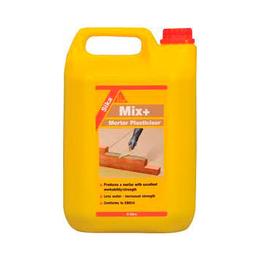 Sika Mix Plus воздухововлекающая и стабилизирующая добавка для строительных растворов и бетонов 5 кг