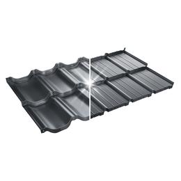Модульная металлочерепица BudMat Murano S-Pure P716B