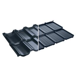 Модульная металлочерепица BudMat Murano Prelaq X-Matt 455