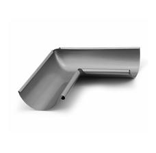 Водосток металлический Struga 125/90 Угол желоба наружный 135°