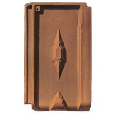 Изображение 3 Керамическая черепица Braas Винтаж состаренный коричневый