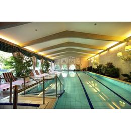 Плитка для бассейнов Interbau Blink Крытый бассейн в гостинице 4*