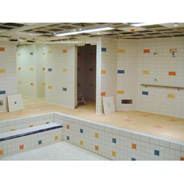 Плитка для бассейнов Interbau Blink Детский бассейн в оздоровительном комплексе