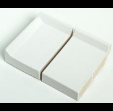 Клинкерный подоконник St.Joris Глазурованный белый