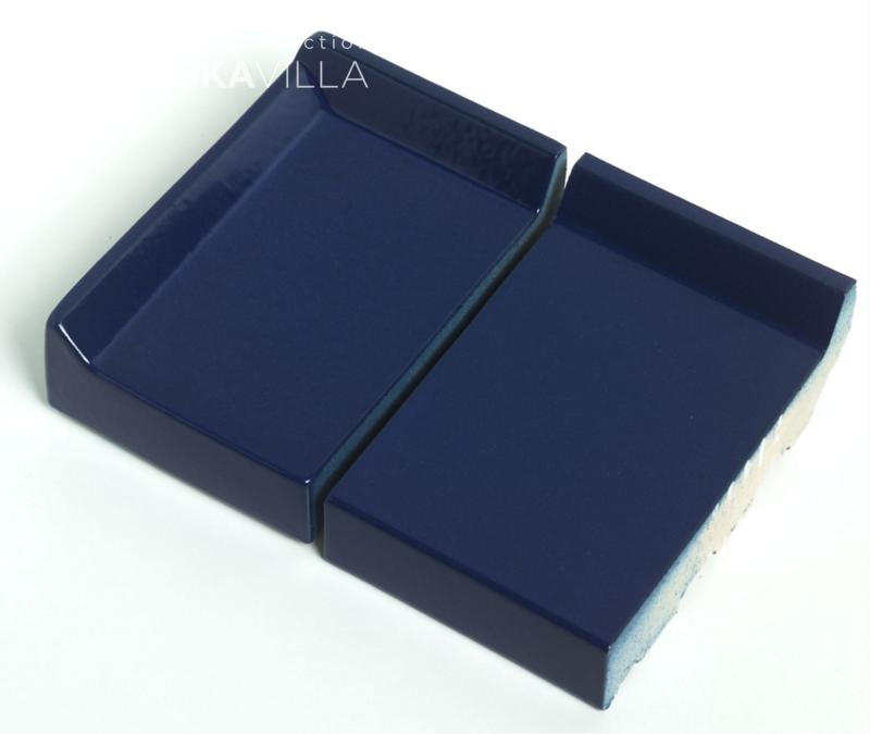 Клинкерный подоконник St.Joris Глазурованный синий
