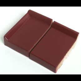 Клинкерный подоконник St.Joris Глазурованный красный
