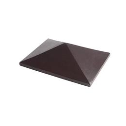 Элементы забора FCB Шляпа коричневая 44х32
