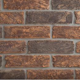 Екатеринославский кирпич ручной формовки Микс графит и таврический темный