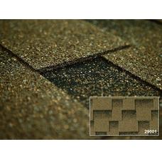 Изображение 2 Битумная черепица Kerabit L+ Квадро оливковый