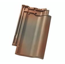 Керамическая черепица Nelskamp F12 U-SUD Bronze geflammt