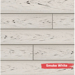 Террасная доска Bruggan Multicolor цвет Smoke White