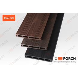 Террасная доска композитная ДПК Porch Real 3D